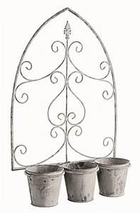 Cache Pot Mural : cache pot mural d coratif 3 pots loire 23 99 ~ Premium-room.com Idées de Décoration