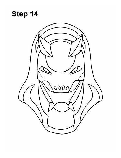 Fortnite Vendetta Draw Skin Step Character Mask