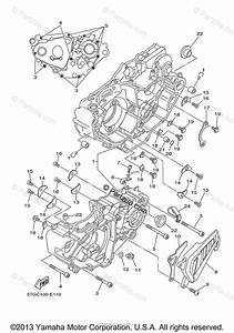 Yamaha Atv 2006 Oem Parts Diagram For Crankcase