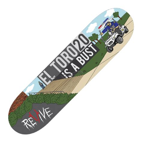Revive Skateboard Deck 80 by Revive Skateboards El Toro Deck Store Powered