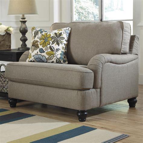 furniture hariston shitake chair and a half with