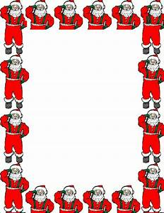 Father Christmas Letter Template Touching Hearts Letters To Santa Claus Templates Free