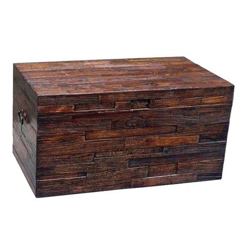 storage chest trunk elm reclaimed wood trunk storage trunks at hayneedle 2549