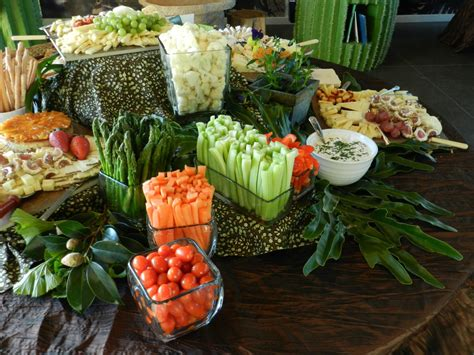 cuisine creative food display creative cuisine orange county catering