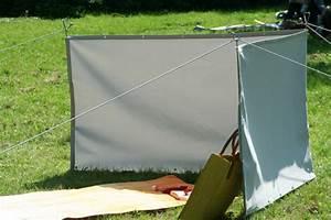 Windschutz Camping Stabil : mobiler windschutz 90 x 300 cm farbe hell silbergrau stabiler sichtschutz windschutz f r ~ Watch28wear.com Haus und Dekorationen
