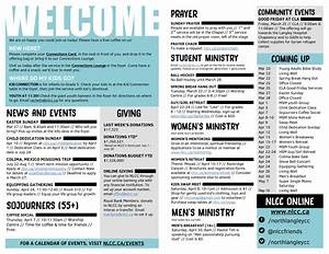 north langley community church bc canada church bulletin ideas With how to make a church bulletin