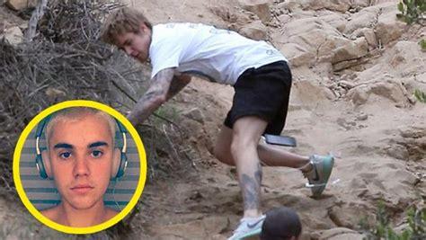La Caída De Justin Bieber En Plena Sesión De Ejercicios