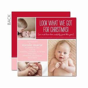 Christmas Card And Birth Announcement
