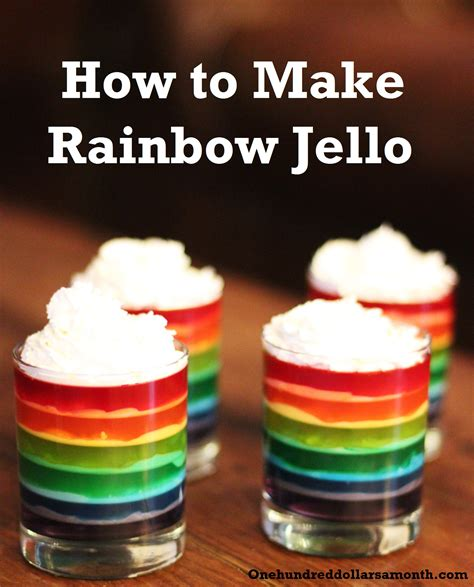 how to make jello st patrick s day recipe how to make rainbow jello