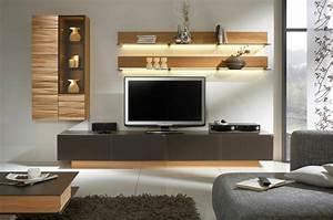 Tv Wand Modern : die moderne wohnwand ist praktisch und bietet viel stauraum an ~ Michelbontemps.com Haus und Dekorationen