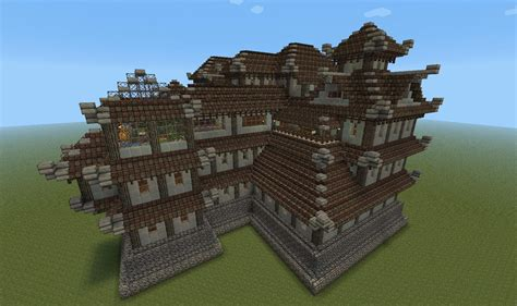 oriental style castle mansion finished screenshots