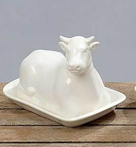 Butterdose Keramik Weiß : keramik kuh ~ Watch28wear.com Haus und Dekorationen