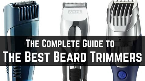 beard trimmer buy complete guide