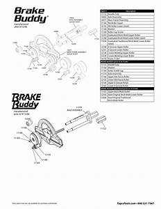 Tapco Brake Buddy Replacement Parts - 11152