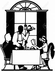 Elegant Dining Clipart