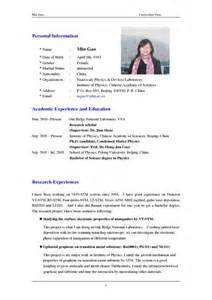 What Personal Information To Put On A Resume by How Write Resume Sle Best Free Home Design Idea Inspiration