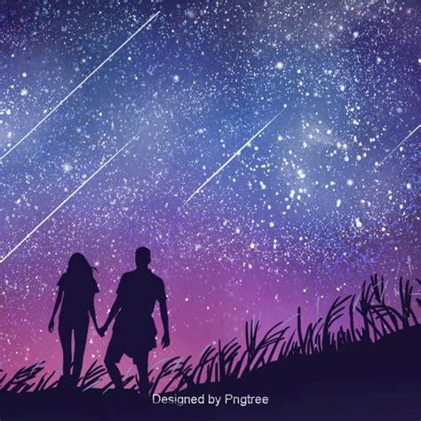 background design  aesthetic star couple walking lovers