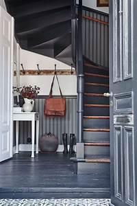 les 25 meilleures idees de la categorie maisons de With superior couleur pour une cage d escalier 3 noir blanc un style