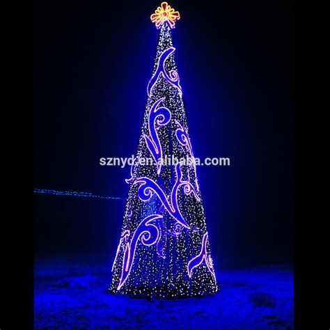 2015 giant christmas tree for outdoor decorations spectacular led light sequin landmark buy
