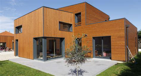 maison ossature bois lyon maison lyon maison contemporaine proche de lyon ocube architecture