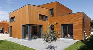 Ossature Bois Maison : maison moderne ossature bois ~ Melissatoandfro.com Idées de Décoration