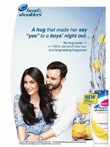 Kareena and Saif's new Print Ad for Head & Shoulders