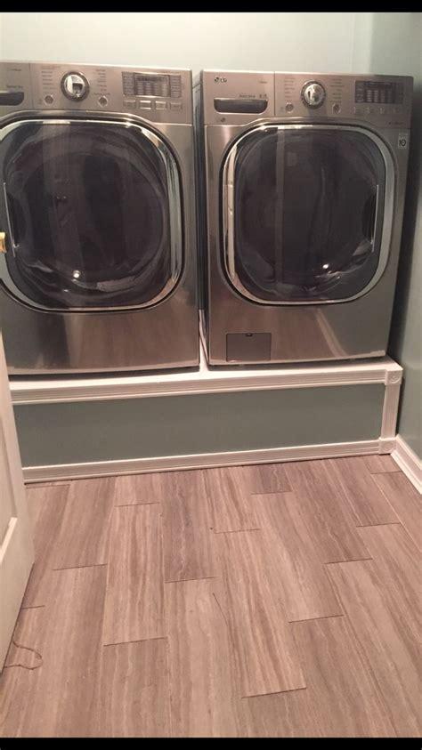 washer  dryer pedestals  husband rocks diy