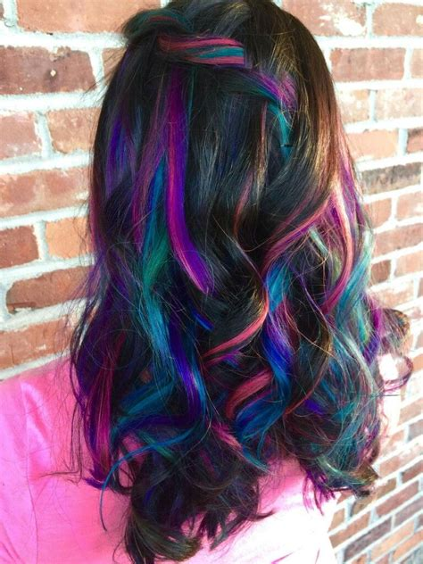 Galaxyunicornmermaid Hair ~peek A Boo Colors~ Ooh I