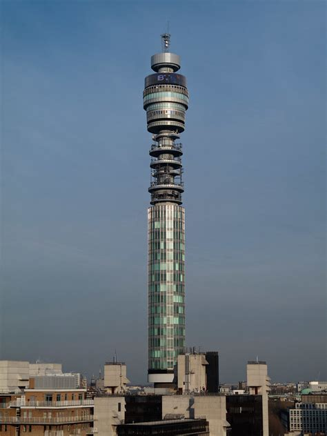 bt telecom tower  bt tower   communications tower lo flickr
