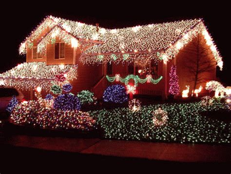 house christmas lights pictures   images