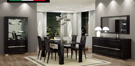extendable leather   italy dining room design san