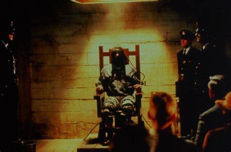 execution en direct chaise electrique exposé d un ancien éléve sur le la ligne verte