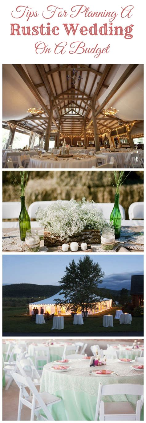 Wedding Decorations On A Budget by Tips For Planning A Rustic Wedding On A Budget Rustic