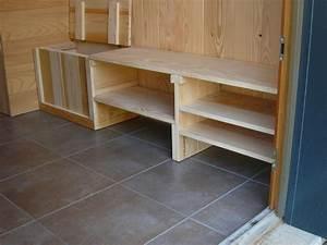 cuisine d ment construire etagere fabriquer etagere bois With fabriquer un garage en bois