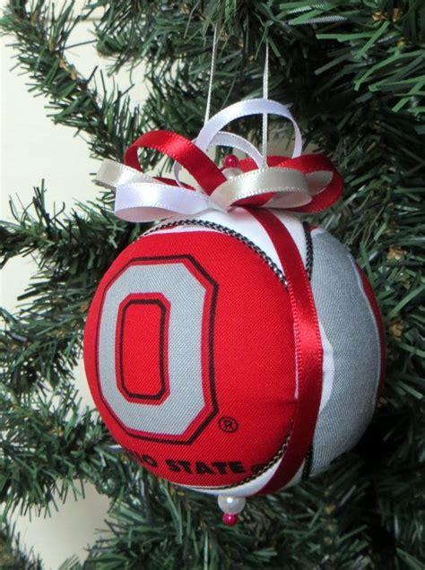 ohio state buckeyes christmas ornament