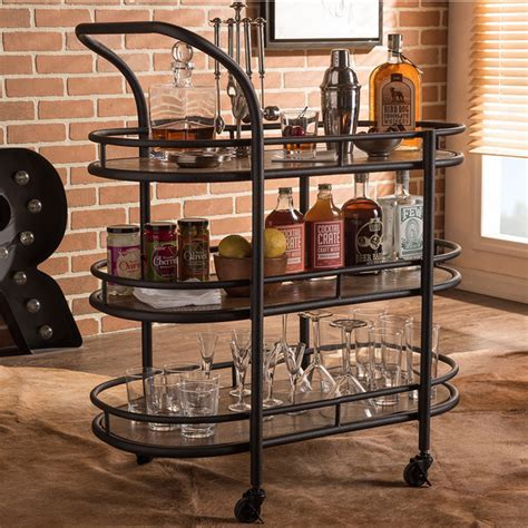 7 Stylish Bar Carts for Under $150 Dollars   Coupon