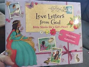 love letters from god bible stories for a girl39s heart a With letters to god bible