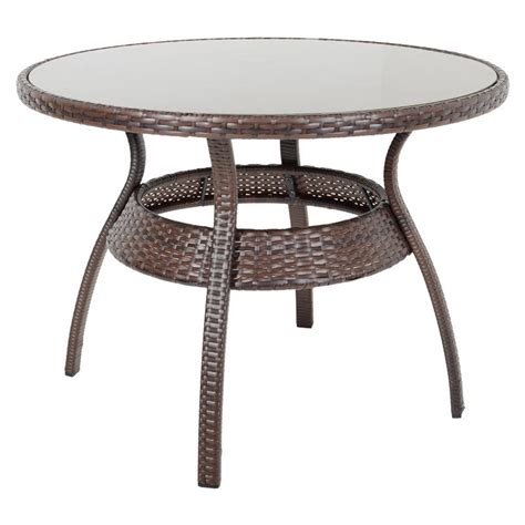 wicker patio table sale brown ravenna rattan wicker garden dining table set with 4