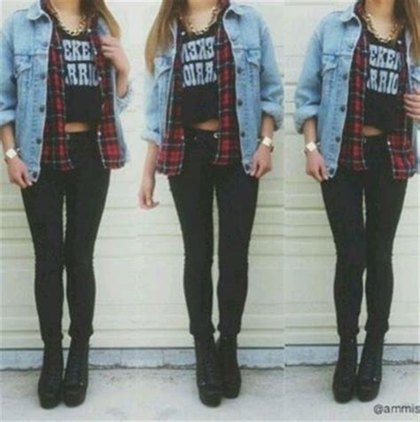 8 best images about Bad girl. on Pinterest | Bad girl outfits Bad girls and Plaid