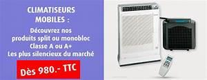 Climatiseur Mobile Sans évacuation Extérieure : climatisation mobile climatiseurs mobiles ~ Dailycaller-alerts.com Idées de Décoration