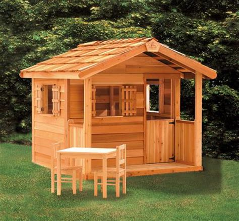 kids outdoor playhouse cedar playhouses cedarshed canada