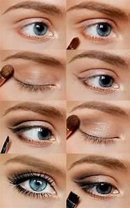 Apprendre A Se Maquiller Les Yeux : comment choisir le maquillage pour agrandir les yeux beauty pinterest maquillage ~ Nature-et-papiers.com Idées de Décoration