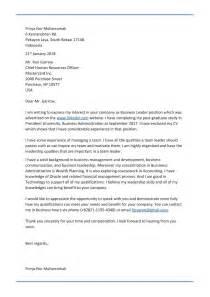 Contoh Cover Surat Lamaran Kerja by Contoh Cover Letter Bahasa Inggris Untuk Fresh Graduate