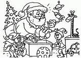 Coloring Claus Santa Beard sketch template