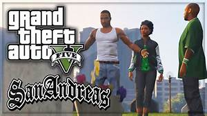 GTA 5: San Andreas Intro Remade 'Grove Street 4 Life ...