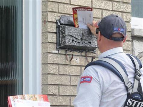 bureau poste canada la livraison du courrier affectée par les travaux