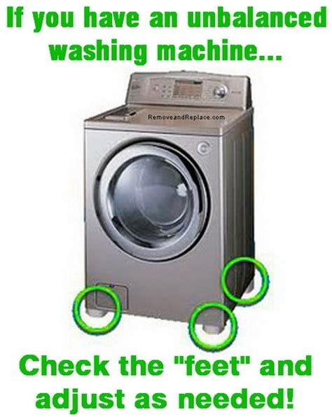 how to level washing machine how to fix and stabilize an unbalanced washing machine us2