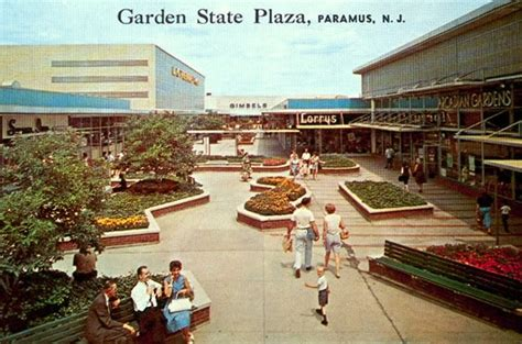 malls of america garden state plaza mall in the sixties