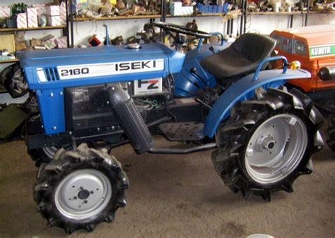 tractor iseki tractor iseki 2160 4wd
