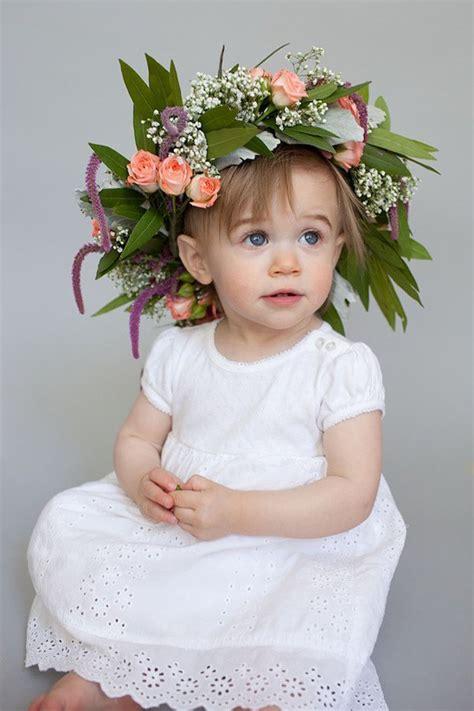 diy crown      flower girl